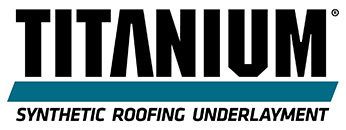 Titanium Synthetic Roofing Underlayment Logo